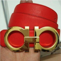 Wholesale 2016 designer belts men high quality mens belts luxury Big buckle ferragi amo men designer leather belt men Woman buckl F with logo Belt