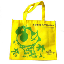 Wholesale non woven reusable shopping bags with logo printing recycle material bag arrange design free cost