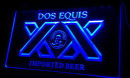 LS060-b Dos Equis Imported Beer Bar Pub Restaurant Light Sign