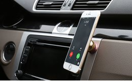 Wholesale Vehicle mounted mobile phone support instrument desk multifunctional automobile magnetic mobile phone seat