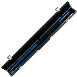 Wholesale Blue Marble Graphite Piece Pool Cue Stick with Case