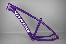 27.5-inch Bike Frame Barrel Axis Interchangeable Traces of Carbon Fiber Bike Frame Road Bike Mtb Bike Cycling Frame