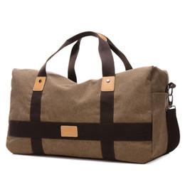 Wholesale-Travel Duffle Large Capacity Mens Travel Bags Canvas Patchwork Men Bags European Style Bags