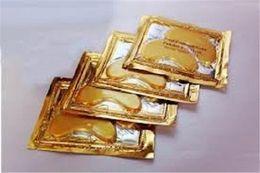 Wholesale price Eye care Crystal Collagen Gold Powder Eye Mask Crystal Moisturizing Eye Mask Top Quality DHL free