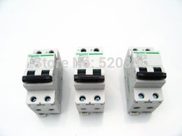 Wholesale P V A C65H DC breaker DC air switch Amps circuit breaker W rail