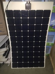 Wholesale solar panel china W High efficiency Sunpower maxeon C60 V solar panel for boat yacht motorhome RV