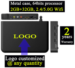 Wholesale 1pcs Customized T95max GB G android iptv tv boxes kodi16 Ares Spinztv Blackbox Apolo Pulse dual channel Wifi g Bluetooth