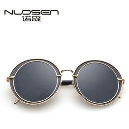 Wholesale-small frame sunglasses color film reflective plane mirror mirror retro Prince Metrosexual ladies round sunglasses