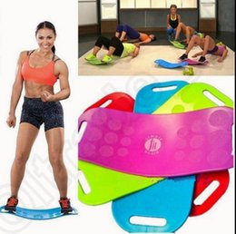 Wholesale Simply Fit Board Fitness Balance Board Professional Blue Orange Green Purple Body Shaper Yoga Plate OOA849