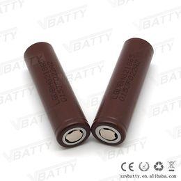 Wholesale High copy chocolate HG2 mah a high drain battery v lgdbhg21865 a box mod battery for vaping