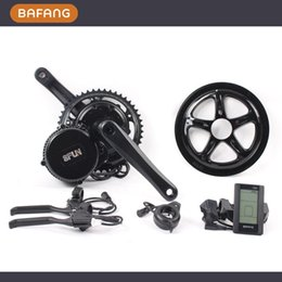 Wholesale Bafang BBS02 V W Ebike Electric bicycle Motor fun mid drive electric bike conversion kit hours delivery
