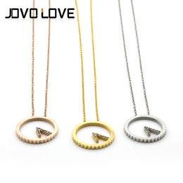 Nuevo regalo fino elegante de la mujer del collar de los accesorios V de la joyería de la manera del reloj del collar V del acero inoxidable V de la forma que envía libremente desde mujer del reloj del collar proveedores