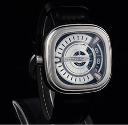 Los mejores relojes de moda de calidad en Línea-Mejor Calidad De Cuero De Raya Siete Viernes De Negocios De Reloj En Negocios De Lujo Marca De Moda Hombres De Mujer Relojes Siete Viernes Original Caja