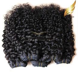 "Cambodianhair Kinky Curly Hair 10""-28"" Virgin Human Hair Extensions Double Weft Hair Wefts Bellahair On Sale 8A Bellahair"