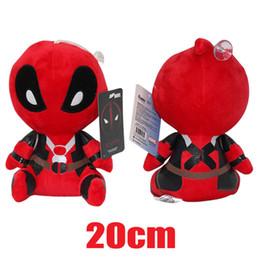 2016 New Deadpool Plush Doll 20cm Height Deadpool Plush Toys 8 inch
