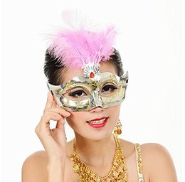 Wholesale party mask wedding dresses Surface Spray Paint The Prince Dance Performance Mask Mask Antique Ancient Greek and Roman Warriorss