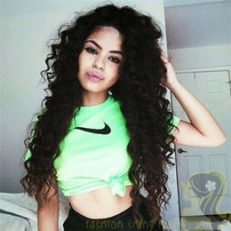 Natural Hairline Kinky Curly Lace Front Wigs For African Americans Brazilian Full Lace Human Hair Wig With Baby Hair
