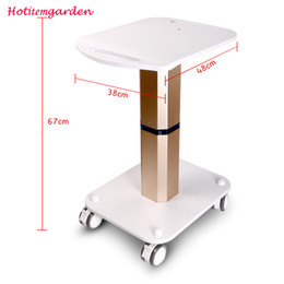 Hot Sale Salon Beauty Machine Use Trolley Stand Styling Pedestal Rolling Cart Roller Wheel Aluminum ABS