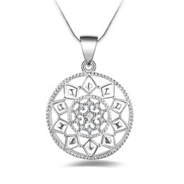 Wholesale 925 Sterling Silver Jewelry AAA CZ Crystal Necklace & Pendants For Women Gift Wedding Necklace Free Shipping