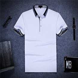 Wholesale Formal Solid Mens T shirt Breathable Short Sleeve Mens Clothing T shirt with Cotton Material Colors for Choice
