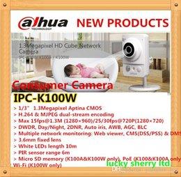 Dahua Consumer Camera 1.3Megapixel HD Cube Network Camera IPC-K100W