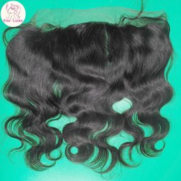 Wholesale Silky Indian Body Wave - Big China Factory Competitive Price 100% Indian Virgin Hair 13x4 Lace frontal Closure Silky Wavy Texture