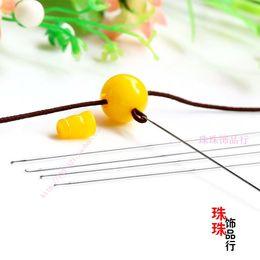 DIY manual material beads jewelry three needle Crochet Beaded Wenwan special essential needle threading tool three
