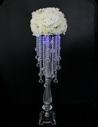 Free shipping 50cm height metal candle holder candle stand wedding centerpiece event road lead flower rack