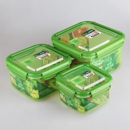 Wholesale Chinese Factory YOOYEE Brand Item519 Best selling refrigerator lunch box food container with lock on sale