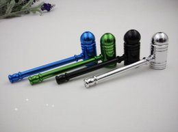 Outlet pipe Jamaica RASTA Reggae Imported materials Metal Portable Pipe Lid Special offer 5 colors Tobacco pipes
