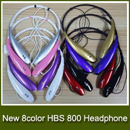 Wholesale Cheapest HBS800 HBS HBS HBS HBS902 Wireless Bluetooth sports headsets headphone necksets for samsung S5 S6 iphone plus DHL