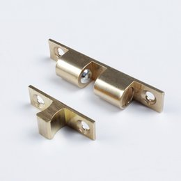 Wholesale pieces brass cabinet Catches metal furniture Hardware door catches and door closer kitchen Cabinets home biuilding hardware