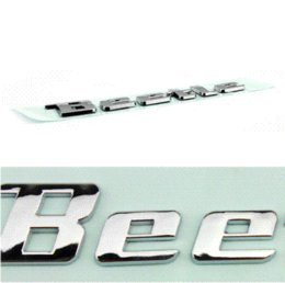 Wholesale New product auto spare parts car accessory New beetle logo beetle letter bagde beetle emblem chrome Decal sticker for VOLKSWAGEN