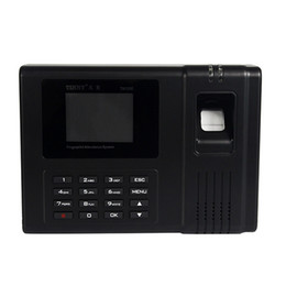 Wholesale New Biometric Fingerprint Recorder Without Software Simple Operation Work Attendance Machine Fingerprint Attendance F6125A