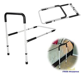 Wholesale Drive Medical Adjustable Height Bed Toilet Rail Safety Bar Rack Secure Grip Handle Assist Adjustable Height Home