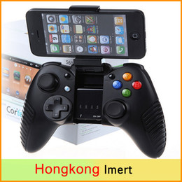 Descuento pc joystick G910 Wireless Gamepad Bluetooth para PC controle gamepad PC Joystick androide Mejor que ipega controlador freeshipping pg-9025