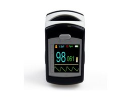 Wholesale 2016 PR monitor Blood Oxygen Pulse oximeter with alarm Factory price Fingertip oxymeter spo2 black colour