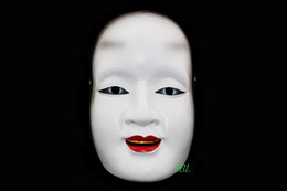 New Unique Facial Expression Mask Cultural Heritage The Japanese Noh Drama Sun Cilang Resin Masks For Stage Performance 100% High Quality