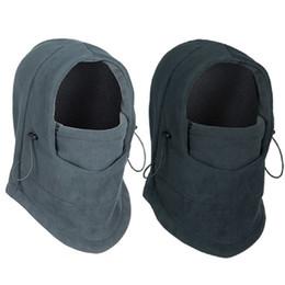 Wholesale Winter warm hat Fleece beanies hats for men skull bandana neck warmer balaclava ski snowboard face mask Wargame Special Forces Mask