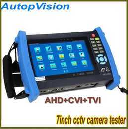 7 Inch IPC-8600 IP Camera CCTV Security Tester IPC Tester ONVIF  More IPCamera Cable POEtest +AHD HDCVI HDTVI Camera Tester