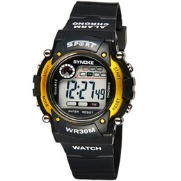 Wholesale Hot sell WR30 WACHES digital mens watch waterproof wristwatch automatic clock military silicone army datejust chronograph Alarm calendar lov