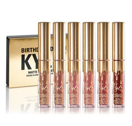 Wholesale In stock Kylie Jenner Lipkit In LEO Limited Birthday Edition mini kit set CONFIRMED Matte Lipstick High Quality
