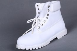 Hot Sale Brand New Mens 7 Eyelets 6-Inch Premium Ankle Boots Work Hiking Shoes Winter Snow Boots for Men Size US 8-13