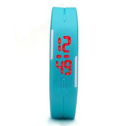 Descuento relojes de pulsera piezas 1000 Piezas 2016 Relojes de Moda LED de pantalla digital electrónica Silicona Touch Control Reloj Hombres Mujeres Deportes Relojes de pulsera Reloj