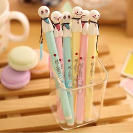 15 pcs Lot Cute Sunny Doll Gel Pens Writing Pens Promotional Pens Cute Prize Gifts School Office Supplies