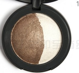 Wholesale Stylish new baked eye shadow baking process baking powder lasting break and easy to wear colour optional