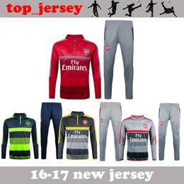 Wholesale New season Winter Arsenal tracksuits ALEXIS WILSHERE GIROUD OZIL best quality long sleeve tracksuit training Arsenal jacket kit