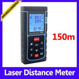 laser measuring tool laser distance meter 150m distance finder with retail packing 10pcs lot