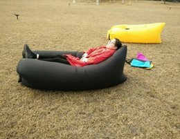 Wholesale Nylon fabric and air filling fashion inflatable sleeping bag Inflatable Bean Bag buy lamzac Inflatable Bean Bag
