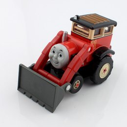 Wholesale Thomas and friends trains Jack bulldozer tractor mini engine magnetic metal diecast alloy models the trains educational cars toy USA SELLER